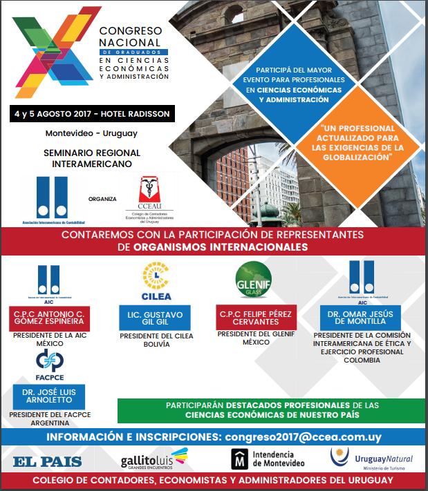 Congreso nacional de graduados en CCEE