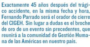 """""""NANDO"""" PARRADO: Broche de Oro del Congreso Intera ..."""
