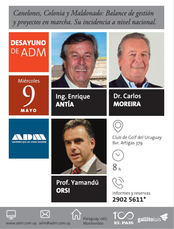 Canelones, Colonia y Maldonado: balance de gestión ...