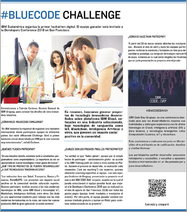 Llega #BlueCode Challenge, la hackaton digital de  ...