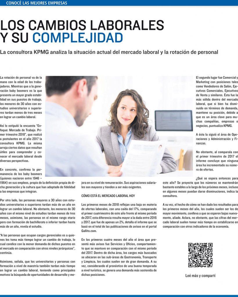Los cambios laborales y su complejidad