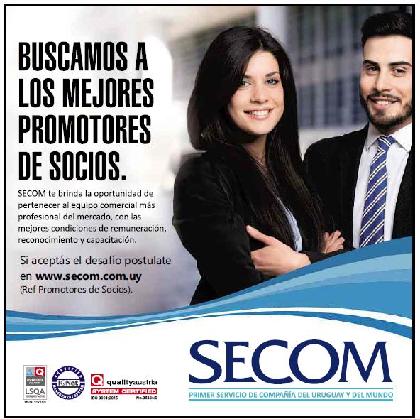 Excelente oportunidad laboral en SECOM